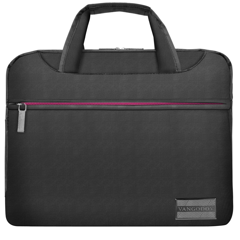 """NineO Messenger Bag 15"""" (Gray/Pink)"""