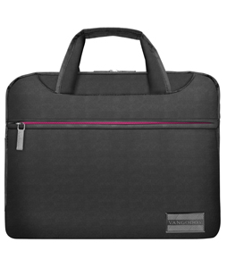 "NineO Messenger Bag 13"" (Gray/Pink)"