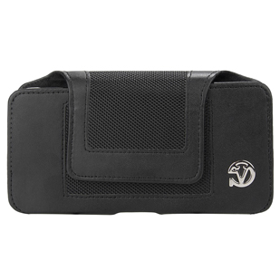 Nylon Velcro Pouch with Belt Clip (XL)
