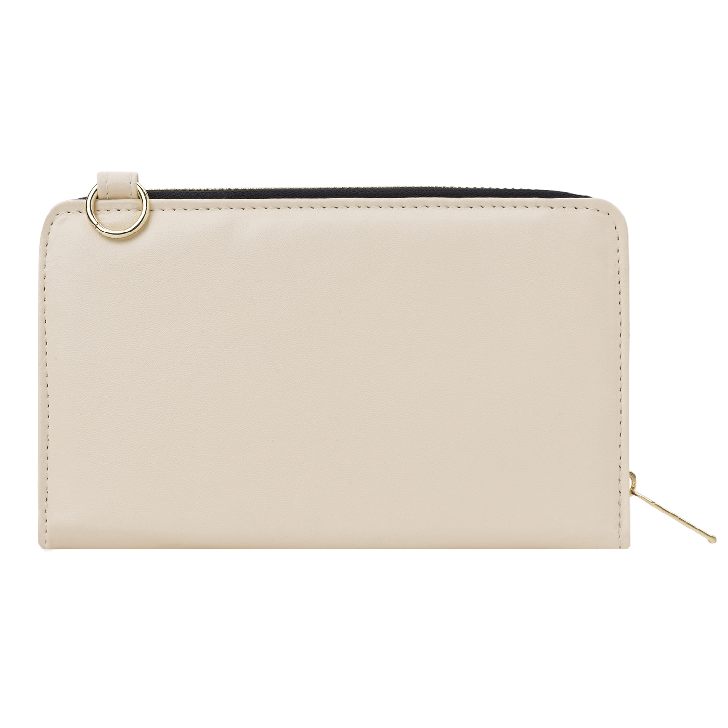 Venice II Clutch (Cream/Yellow)