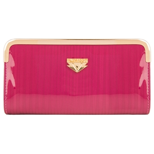 Zippy Lady Wristlet (Magenta)