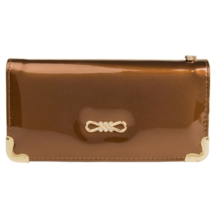 Tory Smartphone Wristlet (Coffee Brown)
