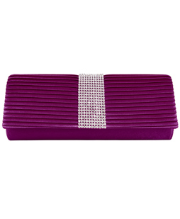 Palki Diamond Clutch (Purple)