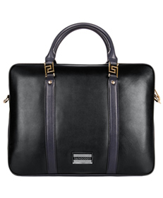 Meka Genuine Leather Briefcase 11.75