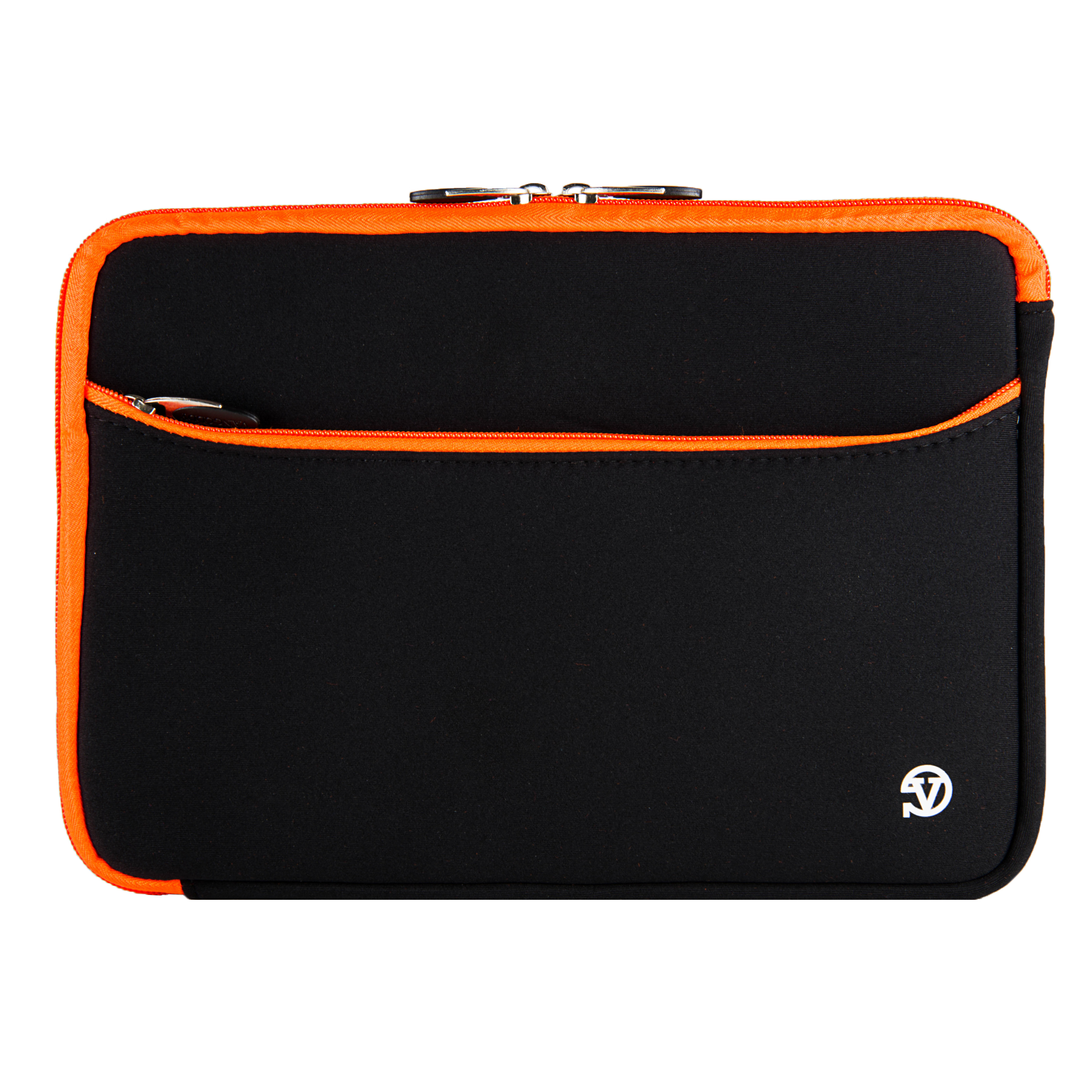"Neoprene Sleeve 10"" (Black/Orange Trim)"