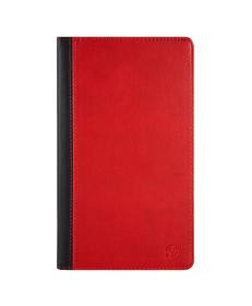 Mary Portfolio Case for Samsung® Galaxy Tab 4 8.0 with Sleep Mode (Black/Red)