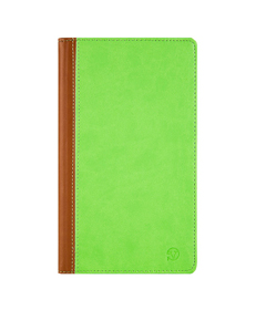 Mary Portfolio Case for Samsung® Galaxy Tab 4 8.0 with Sleep Mode (Green/Brown)