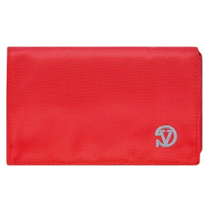 Poly Wallet Case (Red/Grey)