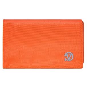 Poly Wallet Case (Orange/Grey)