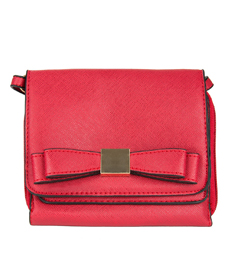 (Red)  Mini Carson Crossbody Bag