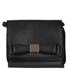 (Black) Vangoddy Mini Carson Crossbody Bag