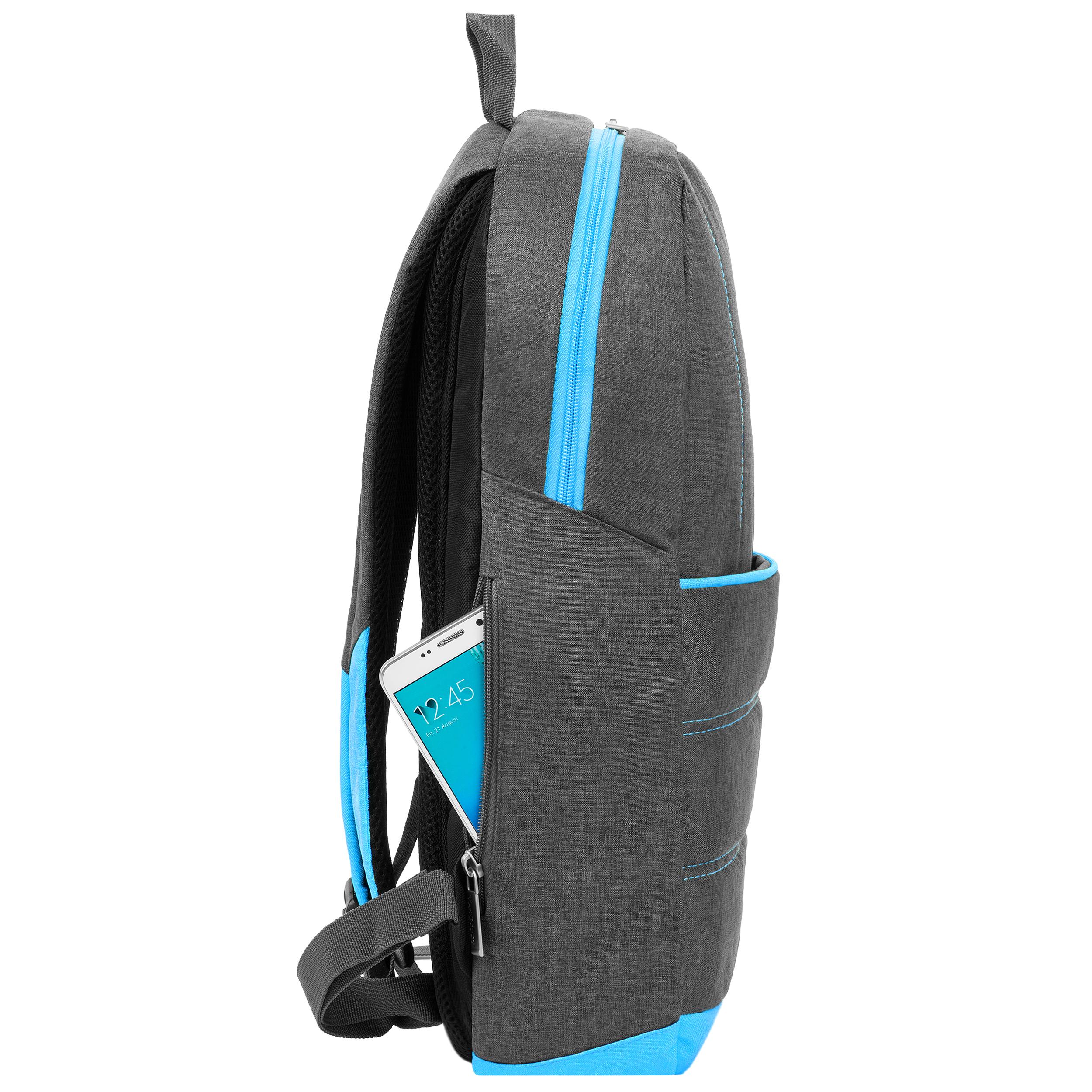 "Grove Laptop Backpack 15.6"" (Sky Blue)"