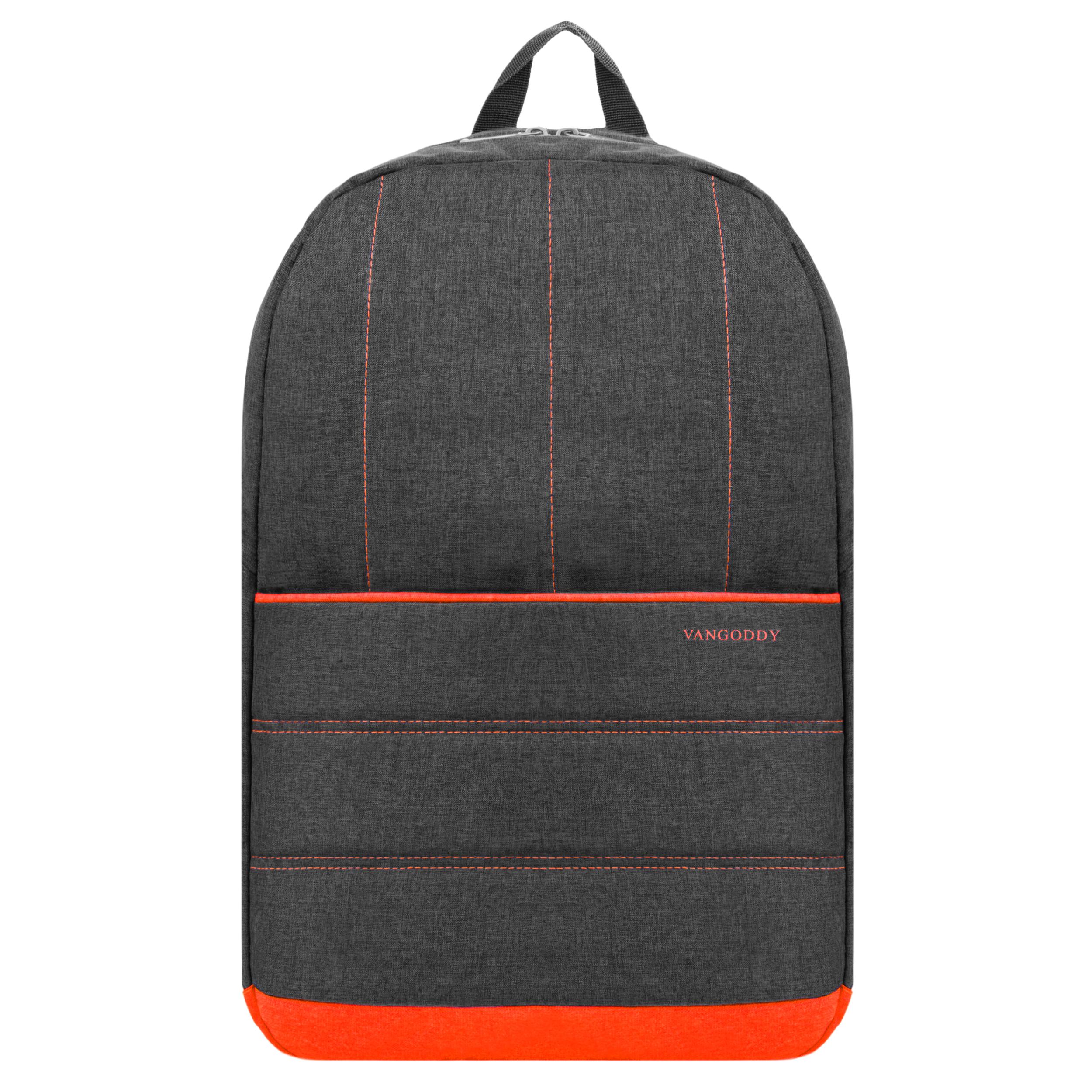 "Grove Laptop Backpack 15.6"" (Orange)"