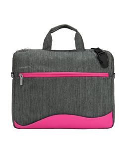 "Wave Laptop Bag 15.6"" (Magenta)"