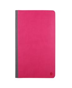 Mary Portfolio Case for Samsung® Galaxy Tab 4 8.0 with Sleep Mode (Pink/Gray)
