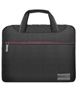 """NineO Messenger Bag 10"""" (Gray/Pink)"""