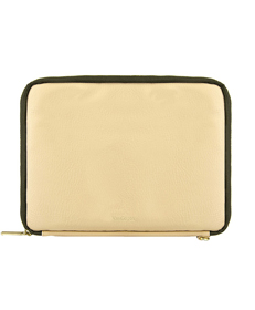"Irista 7"" Tablet Sleeve  (Tan/Olive Green)"