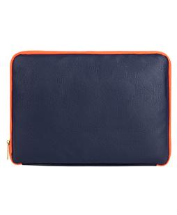 """Irista 15"""" Laptop Sleeve  (Midnight Blue/Orange)"""