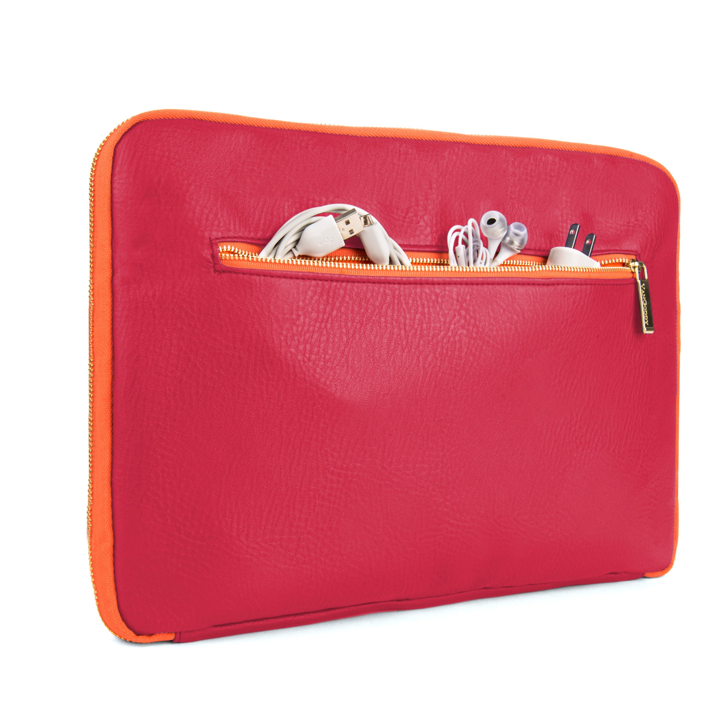 "Irista 15"" Laptop Sleeve (Magenta/Orange)"