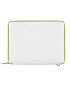 "Irista 10"" Tablet Sleeve (White/Lawn Green)"