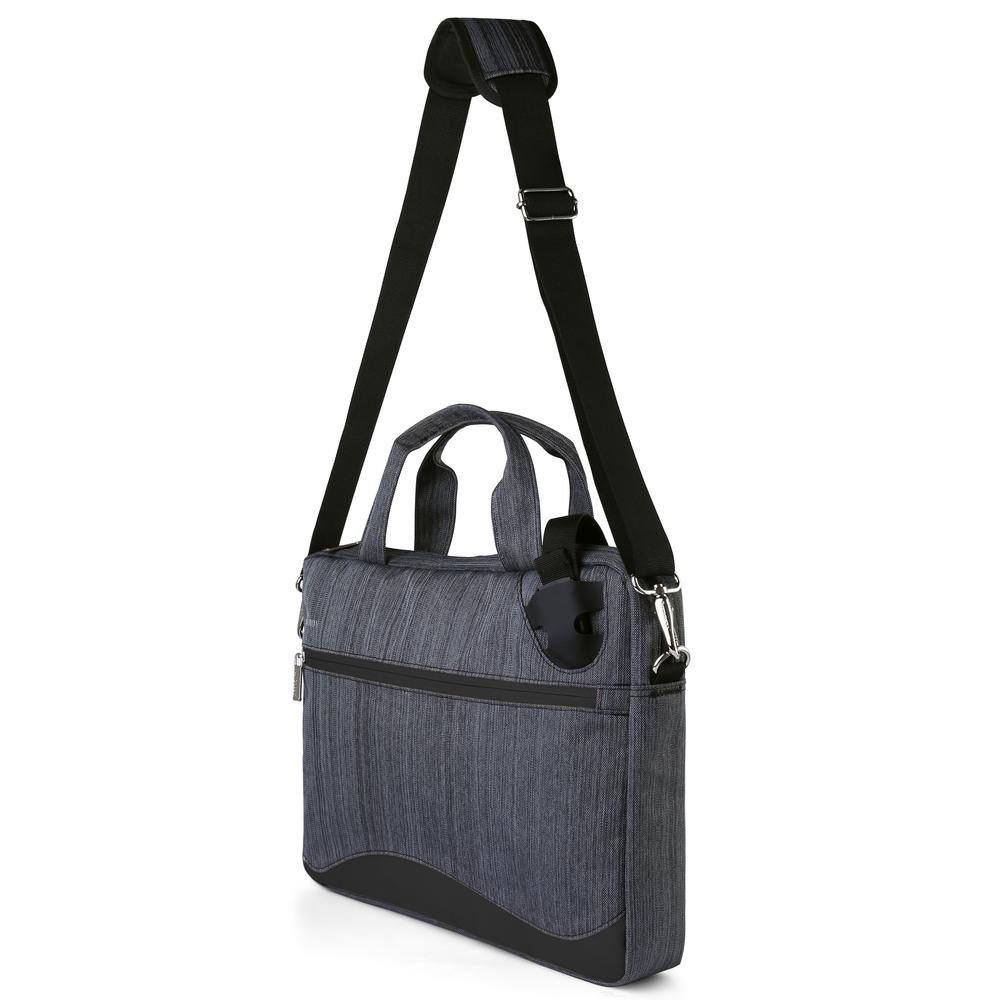 """Wave Laptop Bag 17"""" (Black)"""