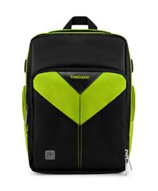 Sparta DSLR Camera Bag (Black/Green)