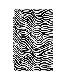 "Mary Portfolio Case for 11"" MacBook® Air (Black/White Zebra)"