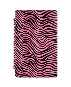 """Mary Portfolio Case for 11"""" MacBook® Air (Pink/Black Zebra)"""