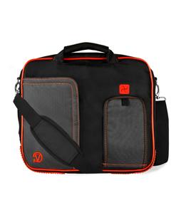 """(Black/Red) Pindar  Shoulder Case 15"""""""