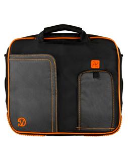 """(Black/Orange) Pindar Shoulder Case 15"""""""