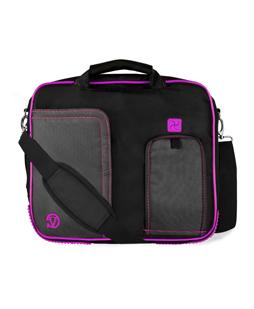"""(Black/Purple) Pindar Shoulder Case 15"""""""