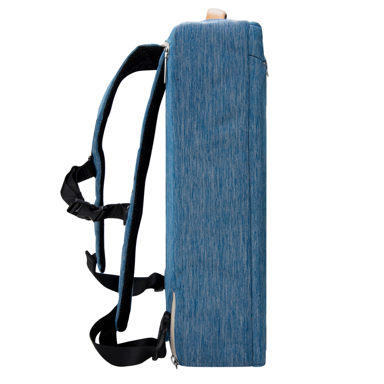 (Blue) Vangoddy Slate Laptop Bag 17