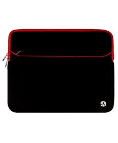 "Neoprene Sleeve 17"" (Black/ Red Trim)"