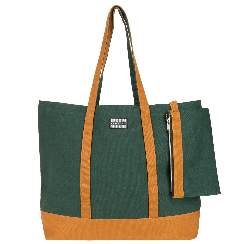 Isling Tote Bag (Pine/Brown)
