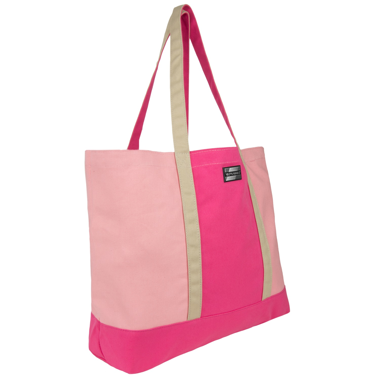 Isling Tote Bag (Magenta/Natural)