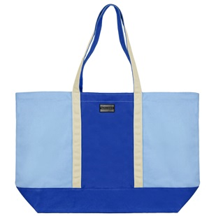 Isling Tote Bag (Royal Blue/Natural)