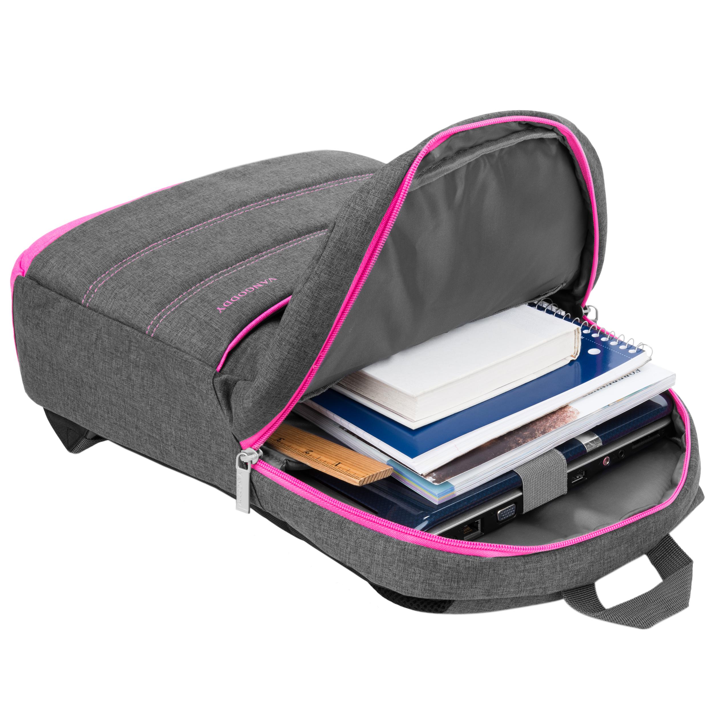 "Grove Laptop Backpack 15.6"" (Magenta Pink)"