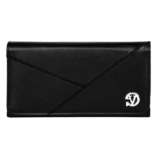 Travel Slim Horizontal Executive Textured Leatherette Belt Clips Holster Cellphone Mobile Case