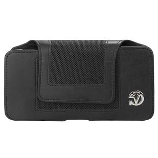 Nylon Velcro Pouch with Belt Clip (XL)