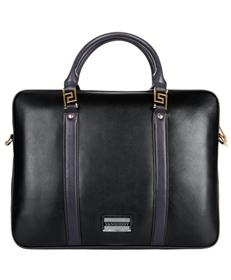 Meka Genuine Leather Briefcase 11.75