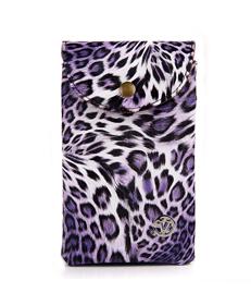 Cellphone Leopard Bag (Purple)